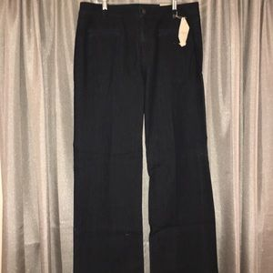 Kate Besom Pocket Trouser Jeans in Dark Rinse Wash